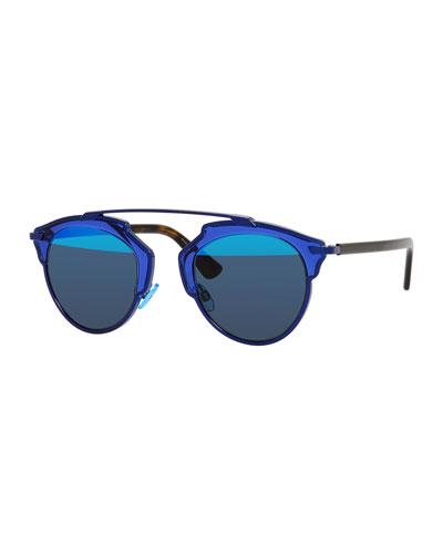 So Real Acetate Sunglasses