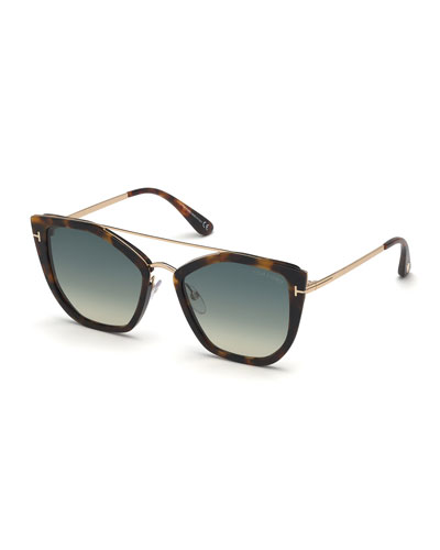 86cca47cae5c Dahlia Butterfly Metal   Acetate Sunglasses Quick Look. TOM FORD