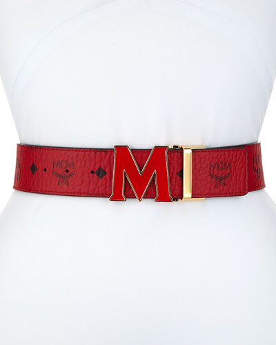 Claus Visetos Reversible M-Buckle Belt