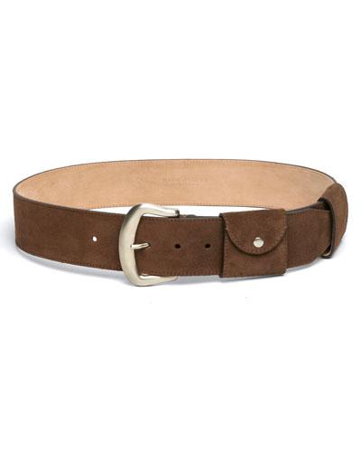 Christy Suede Utility Belt
