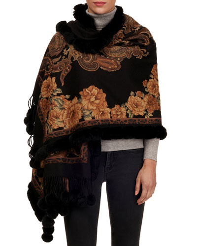 f38dc32645bd Designer Scarves   Wool   Printed Scarves at Bergdorf Goodman