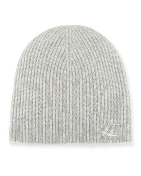 Yorke Cashmere Beanie Hat