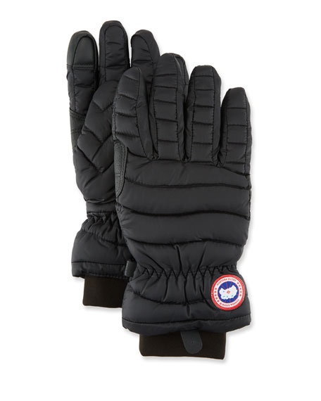 Canada Goose Lightweight Quilted Down-Filled Gloves
