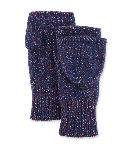 Cheryl Speckled Fingerless Convertible Mittens