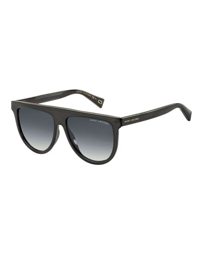Flattop Teardrop Sunglasses