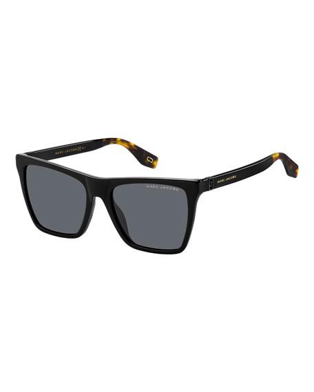 Marc Jacobs Rectangle Acetate Sunglasses
