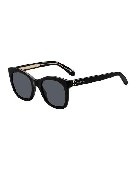 Core 51Mm Sunglasses - Black