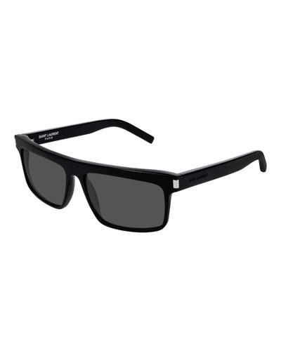 Flattop Rectangle Sunglasses