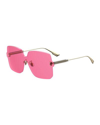 ColorQuake1 Square Shield Sunglasses