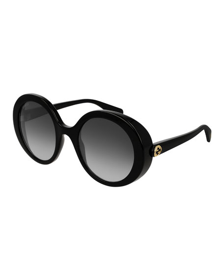 5f523fc912d Round Injection Gradient Sunglasses