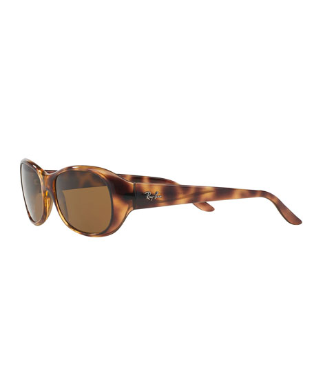 Polarized Oval Sunglasses