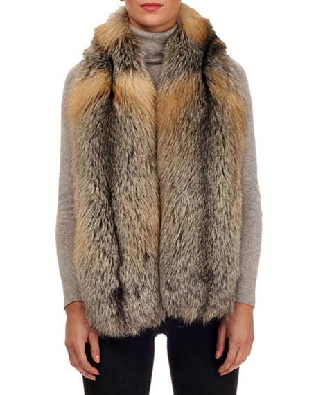 GORSKI Fox Fur Cross Boa