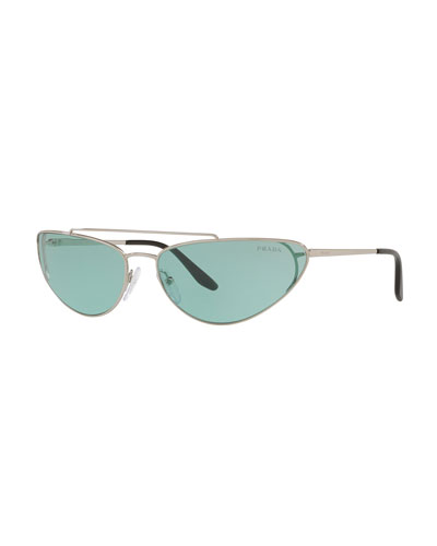 Slim Cat-Eye Sunglasses