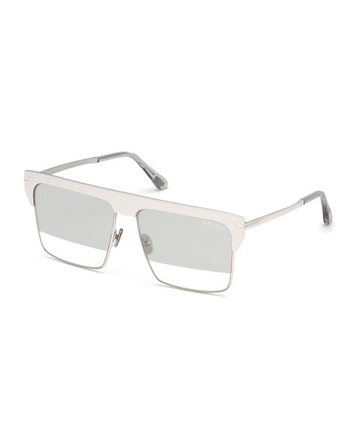 c5b6f6522c West Two-Tone Mirrored Square Sunglasses Quick Look. TOM FORD