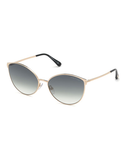 001f078c8e0d Promotion Zeila Round Gradient Sunglasses Quick Look. TOM FORD