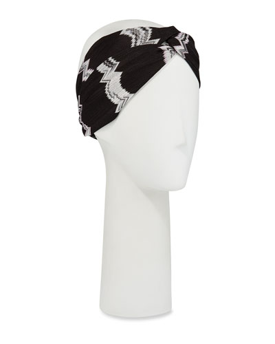 Twisted Zigzag Headband