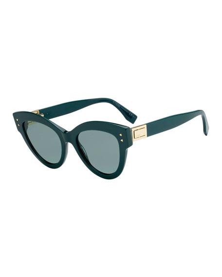 525de89eef223 Fendi Acetate Cat-Eye Sunglasses