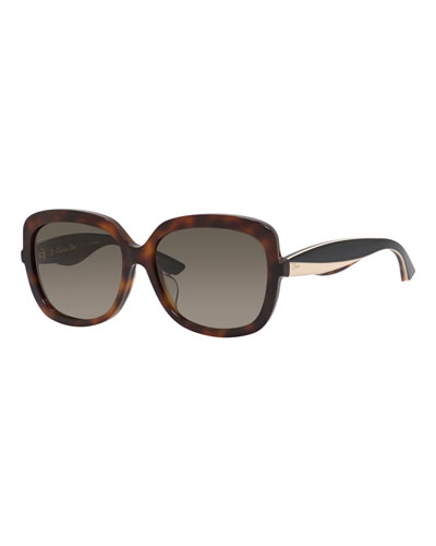 Diorenvolf Square Acetate Sunglasses