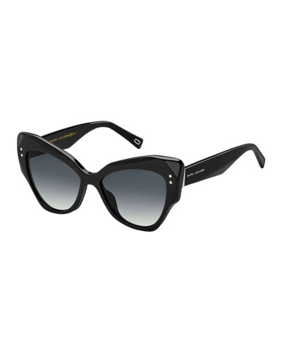 Faceted Butterfly Sunglasses