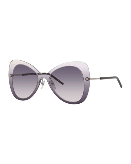 Marc Jacobs Shield Butterfly Sunglasses