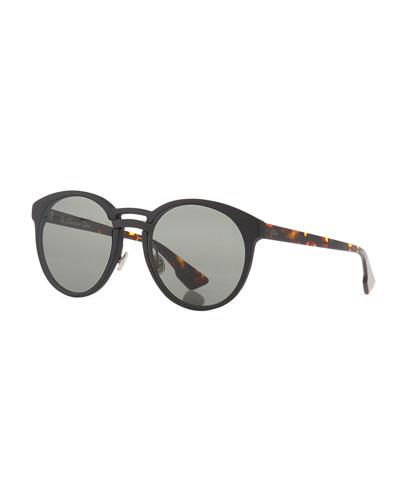 DiorOnde1 Round Acetate Sunglasses