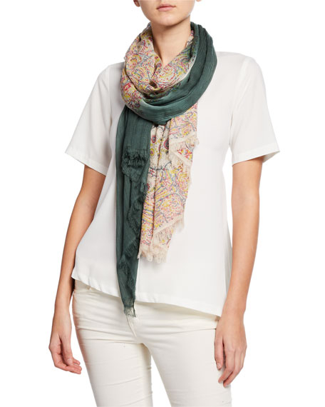 Mangrove RIVA OMBRE PATTERNED SCARF