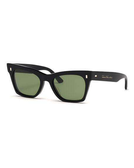 Celine Acetate Cat-Eye Sunglasses
