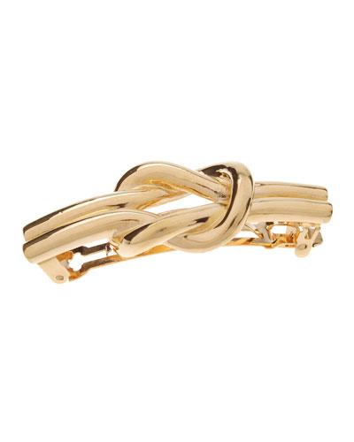 Nautical Knot Metal Barrette