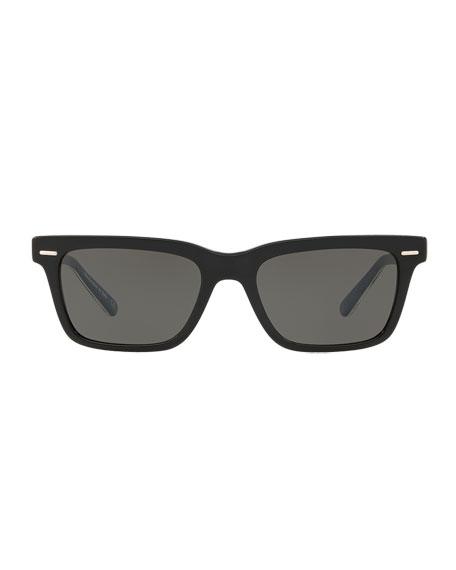 BA CC Rectangle Acetate Sunglasses