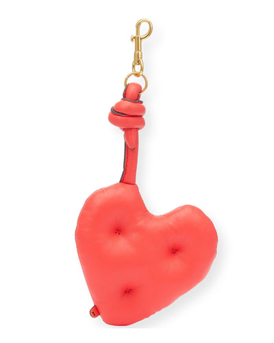 Chubby Heart Charm Key Chain