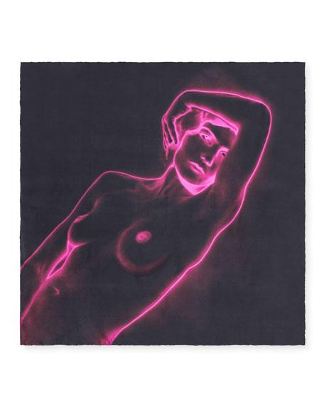 Neon Body Silk Twill Stole
