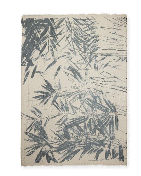 Palmira Palm Leaf Scarf