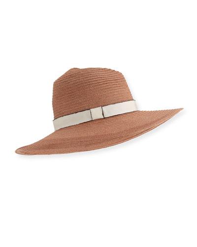 Emmanuelle Woven Sun Hat