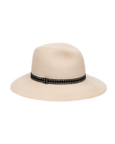 Courtney Packable Fedora Hat