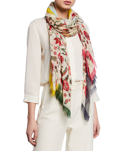 Cashmere Modal Printed Scarf
