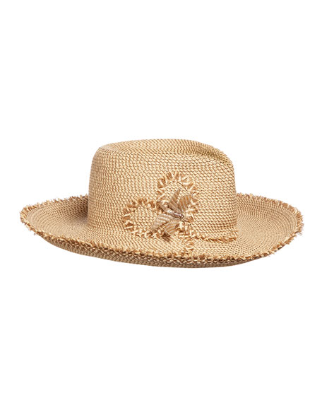 Eric Javits Dragonfly Woven Sun Hat