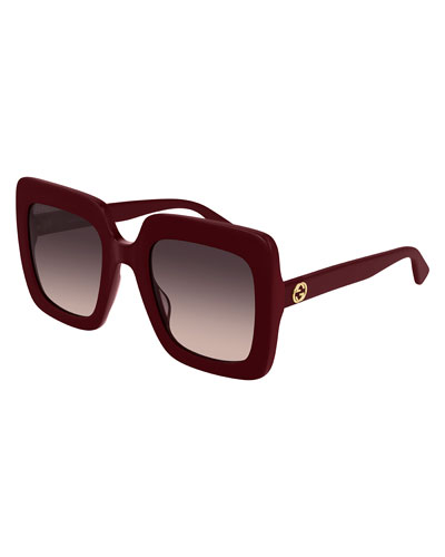 649d4993af Oversized Square Acetate Sunglasses Quick Look. Gucci