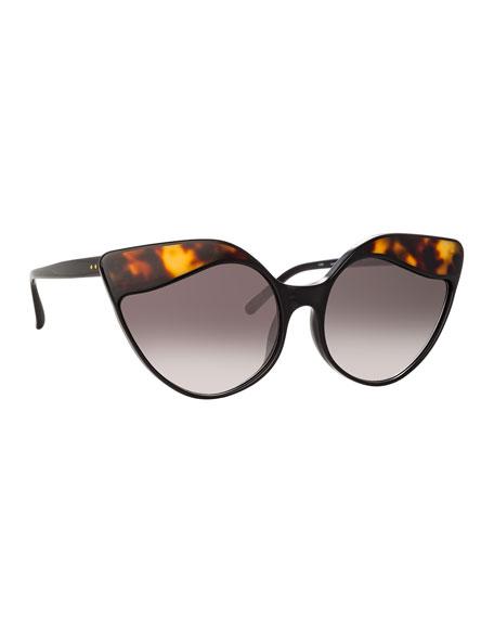 e89520262b MCM Square Cat-Eye Sunglasses w  Stud Detail