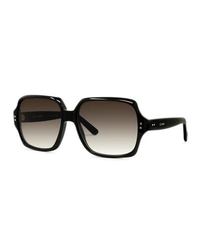 8dc004c5fc98 Square Acetate Sunglasses Quick Look. Celine