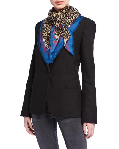 Designer Scarves   Wool   Printed Scarves at Bergdorf Goodman 3263dbec7b5d5