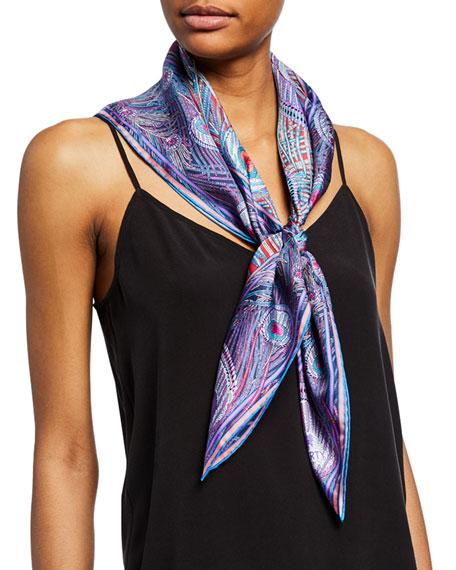 Liberty London Hera Printed Silk Scarf