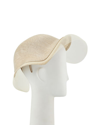 Sweeping Wave Hat w/ Crin Edge