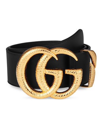 c5fa6c8081b In Stock  Best Match. Smooth Leather Belt w  Double G Buckle Quick Look.  Gucci