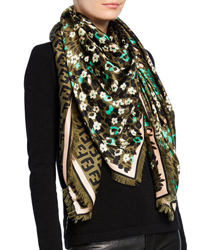 a531400382e Designer Scarves   Wool   Printed Scarves at Bergdorf Goodman