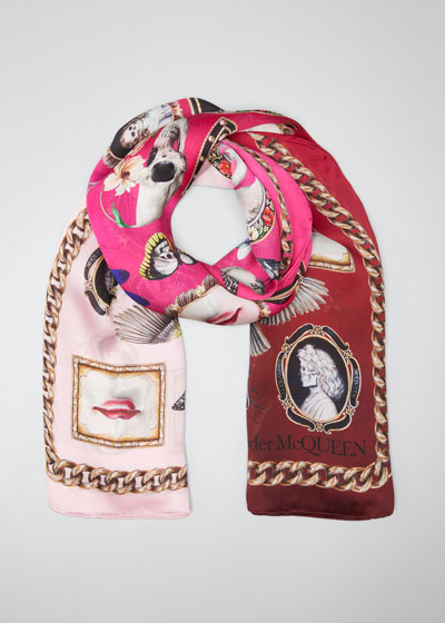 Cameo & Curiosities Silk Shawl