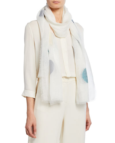 The Voice of the Winds Gauze Dot Scarf