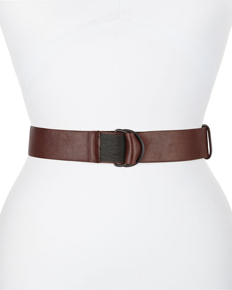 D-Ring Thick Monili Belt