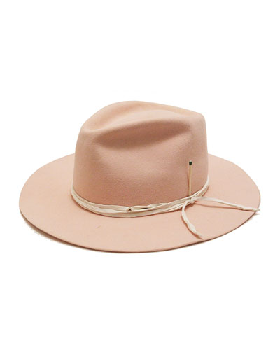 Vaya Con Dios Beaver Felt Fedora Hat
