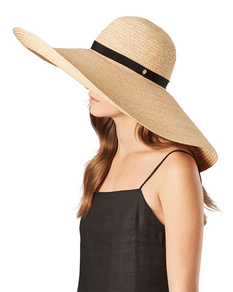 f5bcbcd2a0c7d5 Helen Kaminski Gillen Raffia Floppy Sun Hat