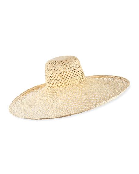 Pergola Woven Straw Sun Hat